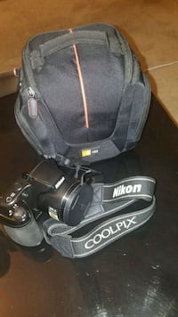black Nikon DSLR camera with bag Aliso Viejo, 92656