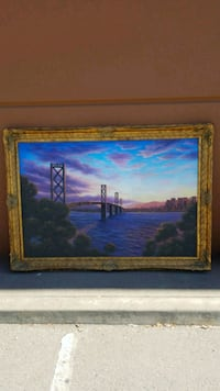 SAN FRANCISCO BAY BRIDGE PICTURE FRAME  Maywood, 90270