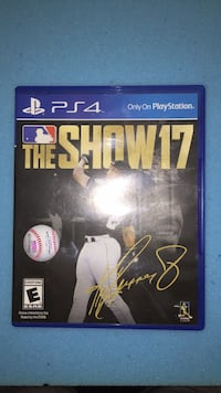 Sony PS4 The Show 17 game case Waco, 76701
