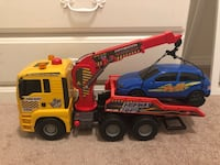 "Dickie toys 21"" action pump tow truck Windsor"