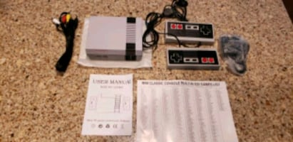 Classic Game Player Mini Game Console Built in 620