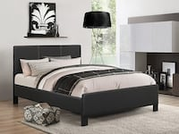 Bed Frame + Spring Mattress and Free Delivery TORONTO
