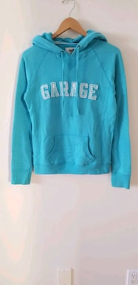Garage teal turquoise hoodie small Vancouver, V6B