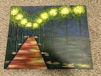 Valentine's day gift- lovers walking in the night-