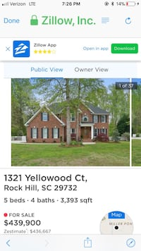 HOUSE For sale 4+BR 4+BA Rock Hill