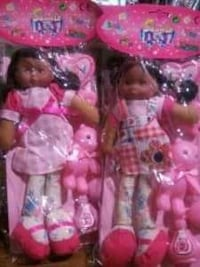 girl plush dolls with accessories