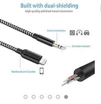 AUX Cord for iPhone 3.5mm AUX Male Audio Adapter for Car Stereo or He Cambridge, 02139