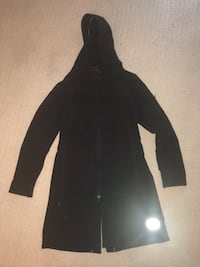 Black Zip Up Fall/Winter Jacket. One tooth Fort McMurray, T9H