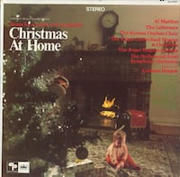 Christmas At Home lp record used Denver