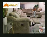 Ashley 6 Piece Sectional Sofa with Recliner & Hide Winter Park, 32792