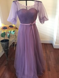 Beautiful purple formal gown/prom Frederick