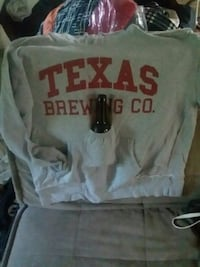 Texas Brewing Co Beer pouch hooded sweatshirt Marion, 52302