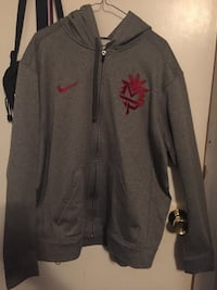 gray and black Nike zip-up jacket Surrey, V3S