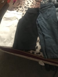 Size 10 there black,white ,-and blue jean color  Bakersfield, 93306