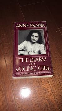 the diary of Anne Frank novel  Vaughan, L4J 9K9