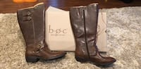 B.O.C. New leather boots 9.5 wide calf Silver Spring, 20905