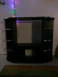 Black wooden tv stand MUST HAVE GONE BY TOMORROW  Westminster, 80003