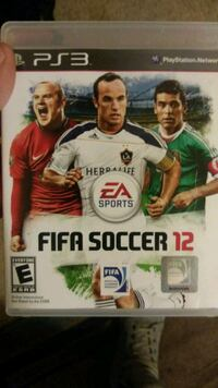 EA Sports FIFA Soccer 11 PS3 game case Winchester, 40391