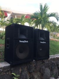 Pair of Sound Tech monitor speakers