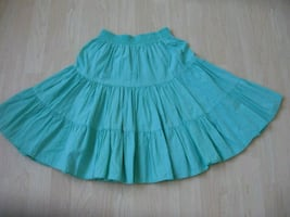 Green Skirt Ladies Small