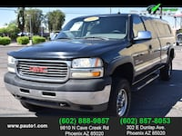 2002 GMC Sierra 2500 HD Extended Cab for sale