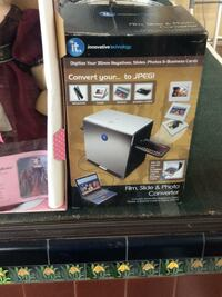 New in box convert your digital film into digital images paid 150 asking hundred new in box Santa Ana, 92701