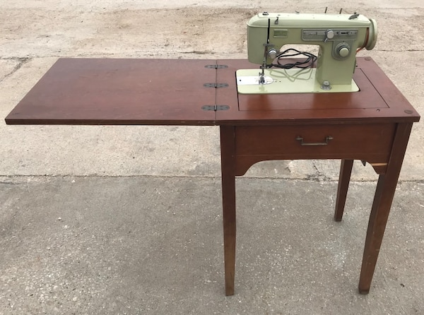 Used Brother Coronado Duchess Antique Rare Sewing Machine With Table Magnificent Brother Sewing Machine Table