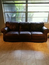 Leather Couch Brown Altamonte Springs, 32714