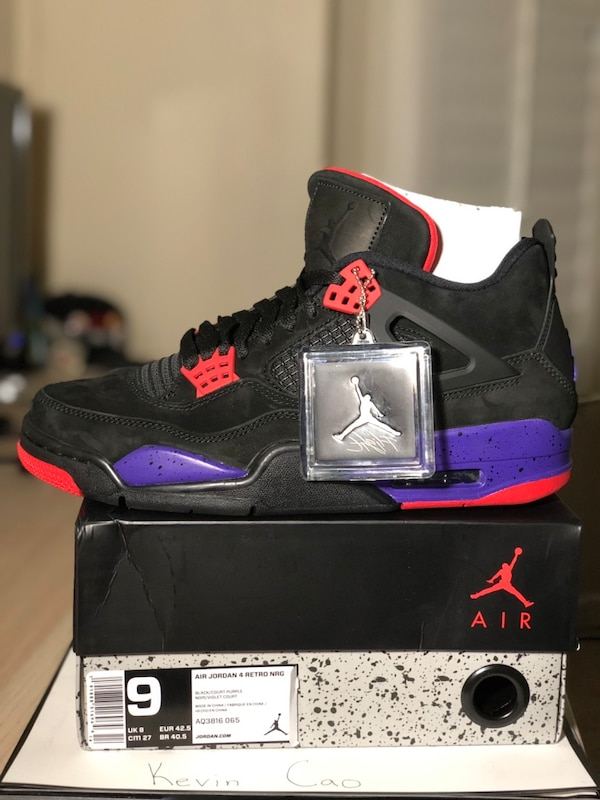 the best attitude 46de9 530c6 Used Jordan Raptor 4s size 9 for sale in Lawrenceville - letgo
