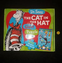 Dr. Suess Cat in the Hat Puzzle