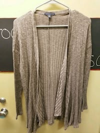 women's gray open cardigan Chambersburg