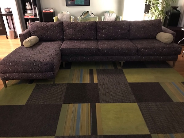 MCM Midcentury Modern Style Carter Sectional Sofa