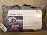 Brand new 7 a.m. LE SAC IGLOO stroller and car seat cover London, N6K 4L8