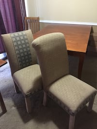 Dining room table with 6 matching chairs Alexandria, 22312