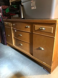brown wooden dresser with mirror Dormont, 15216