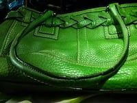 green leather tote bag Augusta, 30909