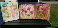 Set of3 canvases.
