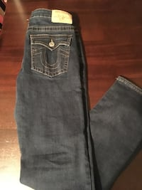 blue True Religion denim jeans 45 km