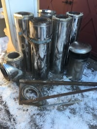 "Wood stove chimney 6"" Dundas, L9H 1J6"