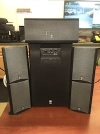 Yahama 5 Speaker System w/ Subwoofer Owings Mills, 21117