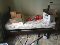 Very old bed set and laundry bins Edmonton, T5W 4C4