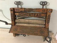 Great Cond Antique Wood Clothes Wringer, Hamilton Co Homestead Ottawa, K0A 3H0