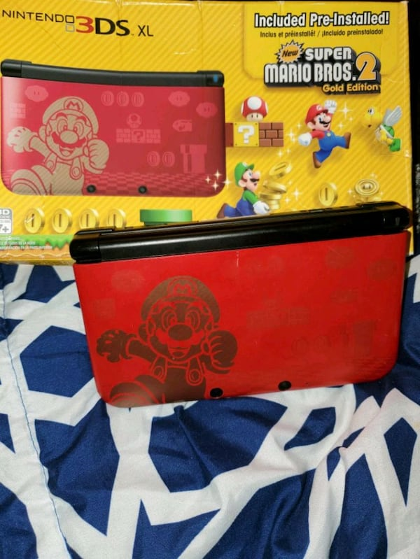 Sold Nintendo 3ds Xl Super Mario Bros 2 Limited Edition In