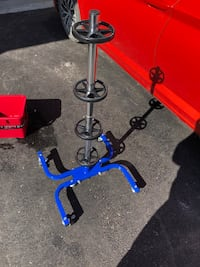 Tire stand