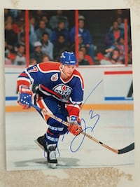 Martin Gelinas Autographed 8x10 Photo For Sale