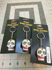 Sugar skull key chains  Severn, 21144