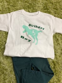 Toddler birthday t-shirt Coral Springs