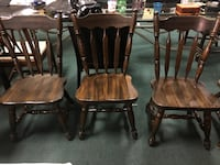 5 Solid Wooden Kitchen Table Chairs Vancouver, V5N 5R3