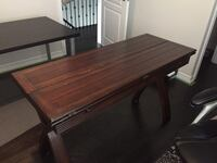 Solid wood folding table Richmond Hill, L4E 0C3