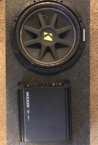 "12"" Kicker Subwoofer and Amp Orlando, 32828"